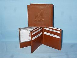 LOS ANGELES DODGERS   Leather BiFold Wallet    NEW    brown