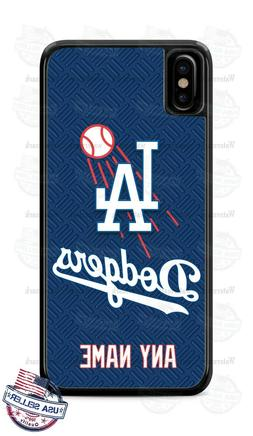 Los Angeles Dodgers Logo Baseball Phone Case Cover For iPhon