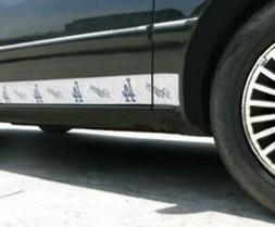 Los Angeles Dodgers Magnets Car Trim Style