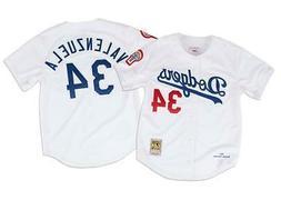 Los Angeles Dodgers Men's Mitchell & Ness #34 Valenzuela 198