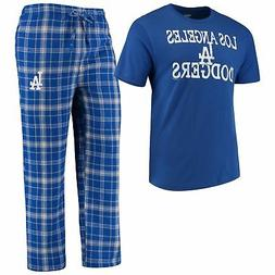 Los Angeles Dodgers Men's MLB Duo Shirt And Pants Pajama Sle