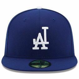 Los Angeles Dodgers Men's New Era Royal Blue Authentic On Fi
