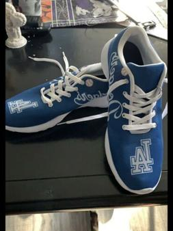 Los Angeles Dodgers Men's Custom Shoes, Size 11, MLB, One