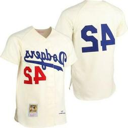 Los Angeles Dodgers Mens Jersey Mitchell & Ness #42 Jackie R