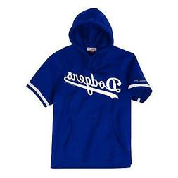 Los Angeles Dodgers Mens Mitchell & Ness French Terry Short