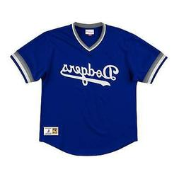 Los Angeles Dodgers Mens Mitchell & Ness Mesh Wordmark V Nec