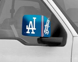 Los Angeles Dodgers Mirror Cover 2 Pack - Large  MLB Auto Ca