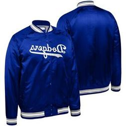 Los Angeles Dodgers Mitchell & Ness Big & Tall Satin Full-Sn