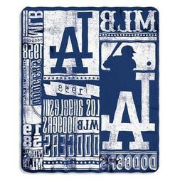 Los Angeles Dodgers MLB Baseball Sports Team 50x60 Fleece Fa
