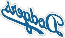 Los Angeles Dodgers MLB Baseball Bumper sticker, wall decor,