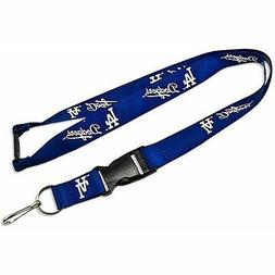 Los Angeles Dodgers MLB Blue Lanyard Keychain