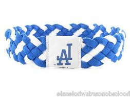 Los Angeles Dodgers MLB Braided Style Elastic Headband Hairb