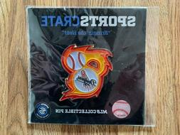 Los Angeles Dodgers MLB Collectible Pin Sports Crate Bringin
