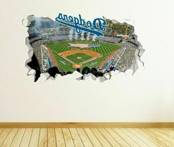 Los Angeles Dodgers MLB Custom Wall Decals 3D Wall Stickers