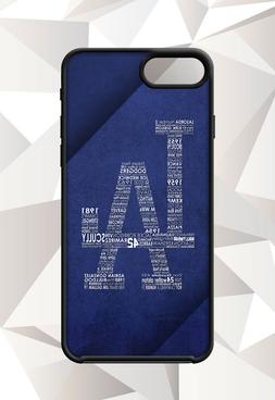 LOS ANGELES DODGERS MLB  IPHONE 5 6 7 8 X PLUS  CASE FREE SH