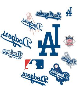 LOS ANGELES DODGERS MLB MAGNET CAR~REFRIGERATOR~FILING CABIN