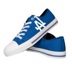 Los Angeles Dodgers MLB Men's Low Top Big Logo Canvas Shoes