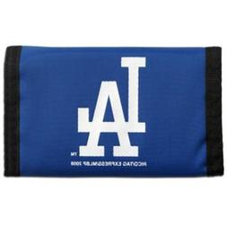 Los Angeles Dodgers Official MLB 5 inch x 3 inch Nylon Trifo