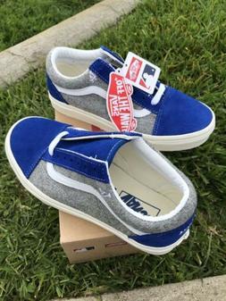 Vans Los Angeles Dodgers MLB Old Skool Shoes MENS Size 4, Wo