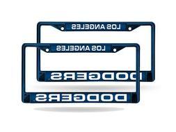 Los Angeles Dodgers MLB  Blue Metal Laser Cut License Plate