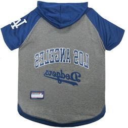 Los Angeles Dodgers MLB Sporty Dog Pet Hoodie T-Shirt Sizes