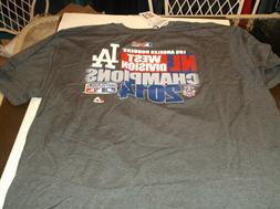 Los Angeles Dodgers MLB Team apparel 2014 N.L. West Division