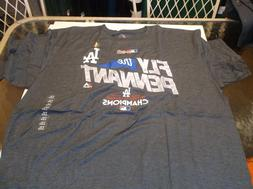 Los Angeles Dodgers MLB Team apparel 2017 N.L.  Champion shi