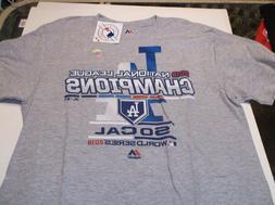 Los Angeles Dodgers MLB Team apparel 2018 N.L.  Champion shi