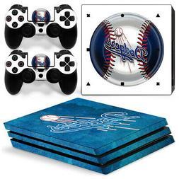 Los Angeles Dodgers MLB team logo baseball skin sticker for