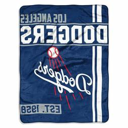 Los Angeles Dodgers - MLB - Walk Off Super Plush Throw Blank