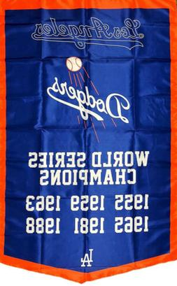 Los Angeles Dodgers MLB World Series Championship Flag 3x5 f