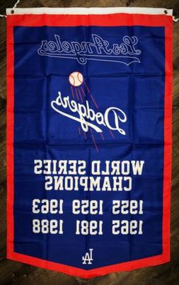Los Angeles Dodgers MLB World Series Championship FLAG 3x5 f