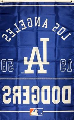Los Angeles Dodgers MLB World Series Flag 3x5 ft Vertical Sp