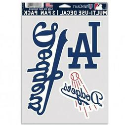 Los Angeles Dodgers Multi Use Fan 3 Pack Decal Set  MLB Stic