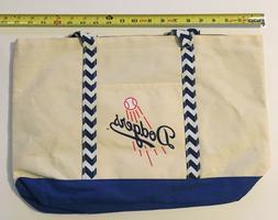 Los Angeles Dodgers New Canvas Beach Bag 06/20 SGA Turner Be