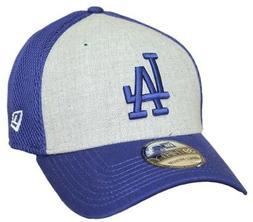 "Los Angeles Dodgers New Era MLB 39THIRTY ""Heathered Gray Neo"