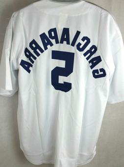 Los Angeles Dodgers Nomar Garciaparra Baseball Jersey White