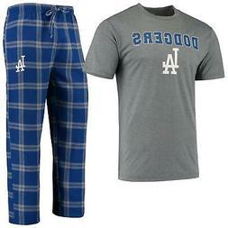 Los Angeles Dodgers Pajamas Troupe Shirt And Pants Sleepwear