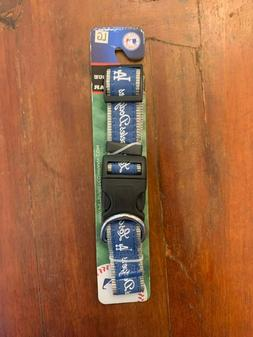 Los Angeles Dodgers Pet Collar by Pets First NEW LARGE B4