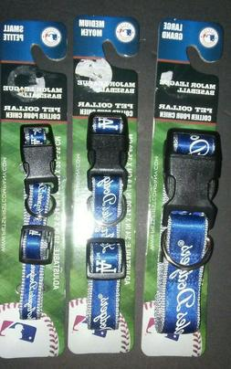 LOS ANGELES DODGERS PET DOG COLLAR ALL SIZES LICENSED MLB DO