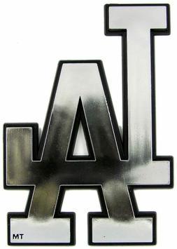 Los Angeles Dodgers Plastic Chrome 3D Emblem Automotive Car