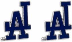 Los Angeles Dodgers Post Stud Logo Earring Set Mlb Charm
