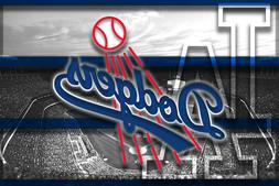 LOS ANGELES DODGERS Poster 8x10in LA Dodgers Prints Free Shi