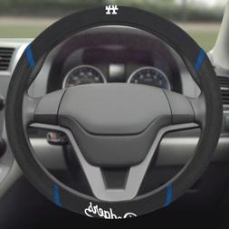 Los Angeles Dodgers Premium Embroidered Black Auto Steering