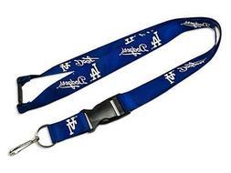 Los Angeles Dodgers Premium Lanyard  Key Chain Ring Id Holde