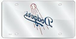 Los Angeles Dodgers Premium Laser Tag Acrylic Inlaid Mirrore