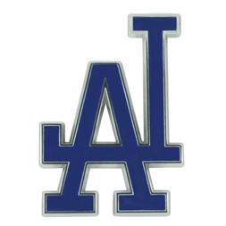 Los Angeles Dodgers Premium Solid Metal Color Raised Auto Em
