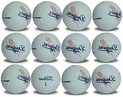 Los Angeles Dodgers Titleist ProV1 Refinished MLB Golf Balls