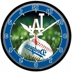 LOS ANGELES DODGERS ROUND WALL CLOCK
