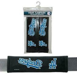 Los Angeles Dodgers Seat Belt Pads 2 Pack  MLB Auto Car Seat